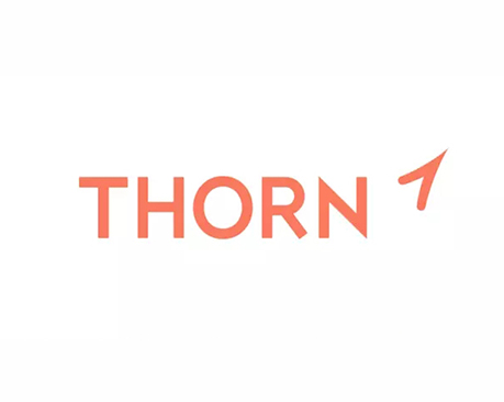 慈善机构Thorn推出新LOGO,减少虐童侵害是首要任务