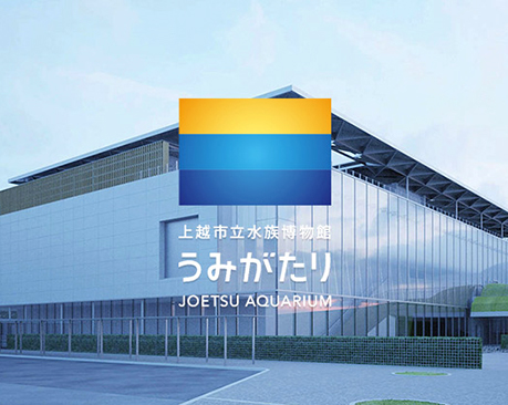 日本上越市立水族博物馆启用全新LOGO,满足你浪漫的小幻想