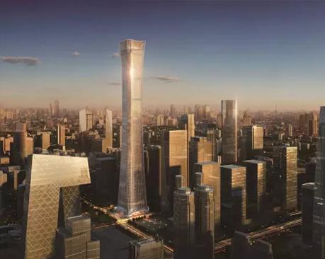 北京第一高楼中国尊花千元征集logo 打脸整个设计界