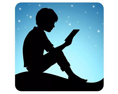 亚马逊Kindle App推出全新LOGO及界面设计,星空蓝带给你不一样的视觉体验!