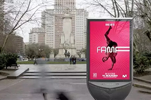 西班牙电视节目Fama A Bailar2018全新LOGO设计,像舞者一样自由伸展!