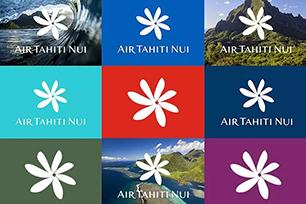 大溪地航空启用全新LOGO设计,栀子花元素纯净自然
