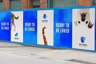 """英国最著名的猫狗收留所""""巴特西猫狗之家""""启用全新LOGO设计,水墨LOGO很温柔"""