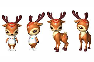 """涿鹿推出全新城市形象LOGO设计,城市IP形象也是""""鹿"""""""