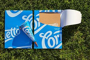 可爱多Cornetto推出全新LOGO设计和包装设计,新感觉!新体验!