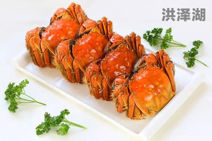 洪泽湖螃蟹Logo设计征集大赛,3万元征集LOGO设计!