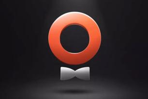 滴滴专车更名为礼橙专车,橙色圆环配领结的logo设计扎眼醒目