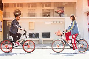 摩拜单车品牌升级,看来免押金是大势所趋,新LOGO符号化更明显