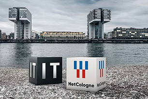 """德国区域网络运营商NetCologne品牌设计全新亮相,新LOGO秉承""""让我们连接更多""""继续前进"""