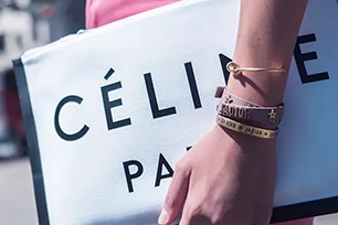 """法国时装品牌Céline新LOGO设计变""""胖""""了,发音符也不见了"""