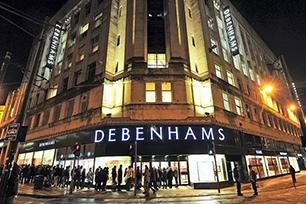 拥有二百多年历史的英国跨国零售商Debenhams启用全新LOGO设计,20年来首次换新