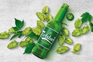 世界第四大啤酒制造商嘉士伯重塑品牌形象,新LOGO设计可能会持续使用五十年