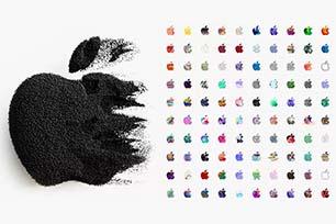"""苹果又出新花样!""""371""""款苹果刷新你对LOGO设计的新想象!"""