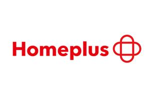"""韩国连锁超市Home Plus成立以来首次换标,新形象设计增加""""+""""图形"""