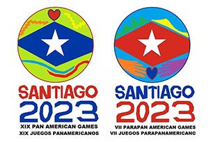 圣地亚哥承办2023年泛美运动会,公布会徽入选方案