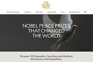 诺贝尔奖启用全新LOGO设计,诺贝尔肖像成为过去式