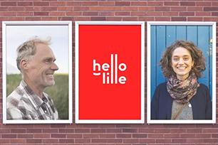法国里尔启用全新城市形象LOGO设计——Hello Lille!