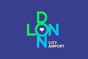 """伦敦城市机场重命名,品牌形象设计""""爱被包围"""""""