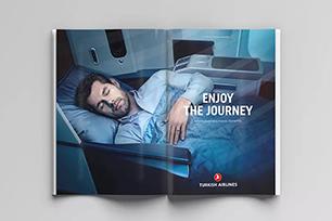 土耳其航空打造全新品牌形象设计,微调后的LOGO设计更顺眼